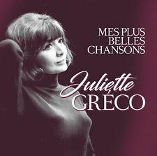 CD Juliette Greco Mes Plus Belles Chansons 2CDs