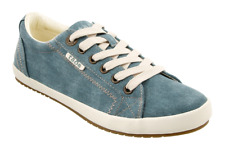 Women's Taos Star Teal Wash Canvas EUR 41 US 10