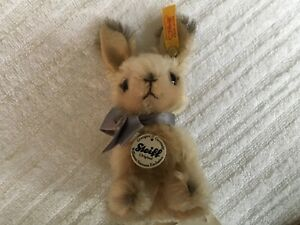 Steiff Williams Sonoma Rabbit - Mohair Easter Bunny # 681806 - Free Shipping!