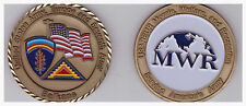 US USAREUR Army Europe Seventh Army Balkan MWR Coin