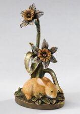 A22541 Border Fine Arts Baby Rabbit & Daffodils Figurine in Gift box NEW