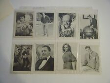 James Bond & Man from UNCLE Lot of 8 Orig 1960's Gum Cards VF / NM w/ Protector