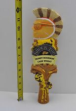 "NEW Shock Top Honey Bourbon Cask Wheat 12"" Tall Tap Handle Beer Bar Pub Keg #12"