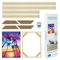 Wooden Frame Durable Diamond Painting Picture Frames Cross Stitch DIY Hand-made