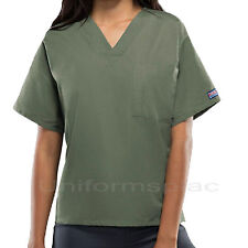 Cherokee Workwear Scrubs Shirts Unisex Men Women V-Neck Tunic Top 4777 Shirt