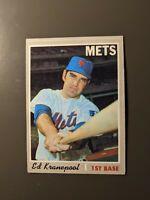 1970 Topps #557 Ed Kranepool New York Mets Semi High Number EX