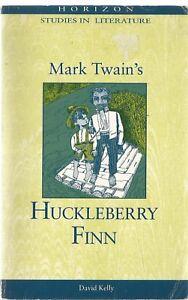 Horizon Study Guide for Mark Twain's Huckleberry Finn - paperback