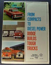 1967 Dodge Truck Brochure Pickup Crew Cab 4x4 A-100 Compact Van Excellent Orig