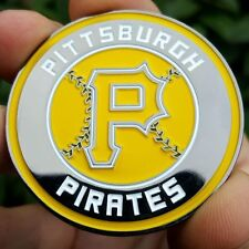 PREMIUM MLB Pittsburgh Pirates Poker Card Protector Coin Golf Marker NEW