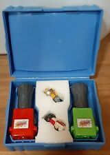 1987 vintage Tomy Spinja's Blue Arena w/ scorcher & blow torch, works perfect