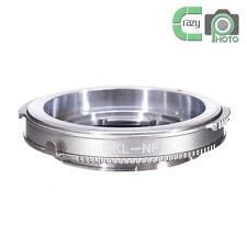 DKL-NF Brass Adapter for Voigtlander Retina Lens to Nikon AI F D5100 D5300 D7100