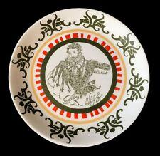 More details for vintage 1 plate holkham pottery england francis drake elizabethan farmhouse old