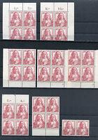 Bund 253 Eckrand VB FN oder Viererblock postfrisch BRD 1957 Paul Gerhardt MNH