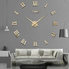 Special Offer 3d Big Acrylic Mirror Wall Clock Diy Quartz Watch Still Life