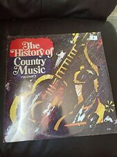 The History Of Country Music Volume 6 Vinyl Record Lp new sealed