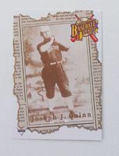 1994 Futera ABL Australian Baseball Legend Card #119 Joseph J. Quinn