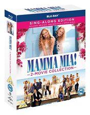 Mamma Mia! 2-Movie Collection – Sing-Along Edition (2 Bonus Discs) [Blu-ray]