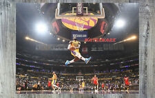 NBA Lebron James Los Angeles Lakers Game Action Color 8 X 10 Photo Picture