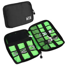 3 Pcs Electronic Accessories Cable USB Drive Organizer Case Travel Insert Bag