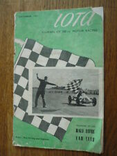 Iota - The Magazine Of The 500 Racing Club September 1951