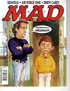 Mad magazine #364 December 1997 Very Fine cond Seinfeld Air Force One Drew Carey