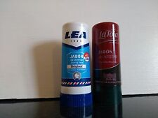 2 Spanish shaving soap sticks Lea 50gr and La Toja 50gr  UK stock