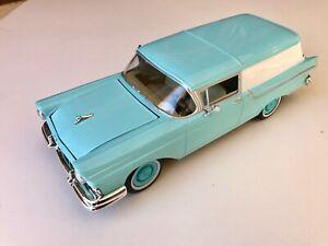 Johnny Lightning 1:24 1957 Ford Courier Sedan Delivery Station Wagon - Aqua