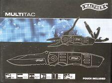 Walther Outdoor Multifunktionsmesser MTK MultiTacKnife