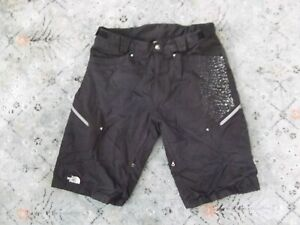 Men's THE NORTH FACE cryptic black cargo snow boarding shorts Sz. L