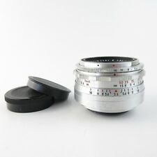 Für M42 Meyer Optik Görlitz Q1 Alu Primotar E 3.5/50 red V Objektiv lens + caps