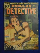 Popular Detective 2 Issue Lot 1944-45