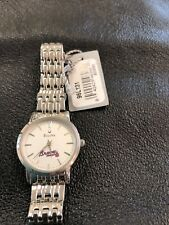 Atlanta Braves Bulova Ladies Watch