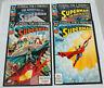 lot of 4 DC Comics Superman Funeral for a Friend comic books #1, 3, 4, 8 (1993)
