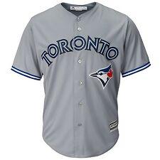 Мужские Toronto Blue Jays величественные серый серый дорожный классный база команды Джерси небольшой
