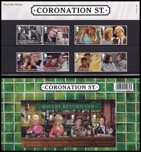 2020 GB Coronation Street Royal Mail Presentation Pack No.586