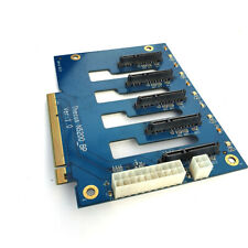 Thecus N5200 x5 SATA HDD Backplane Board N5200_BP Disk Drive Power