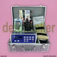 Classic Ionic Detox Aqua Ion Foot Bath Spa Cell Cleanse Set Fir Belt CE Approved