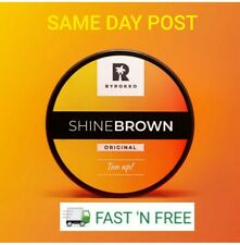 Byrokko shine brown FAST tanning cream for sunbed & outdoors