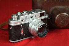 EXC 1963 Zorki-4 Rangefinder camera with Jupiter-8 50mm F2 lens and Case