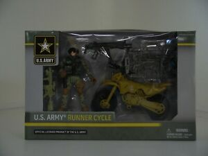 EXCITE U.S.Army Runner Cycle Action Figure Ages 4+