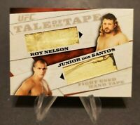 2011 UFC Tale of the Tape Dual Relics Roy Nelson Junior Dos Santos - Fight Used
