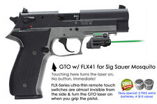 ArmaLaser GTO for SIG Sauer Mosquito GREEN Laser Sight w/FLX41 Grip Touch