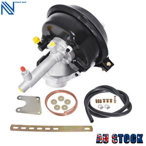 Universal Vacuum Hydraulic Operated Remote Brake Power Booster Disc/Drum VH44