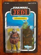 Vintage Star Wars Figure Gamorrean Guard Recard 1983 ROTJ 65 Back
