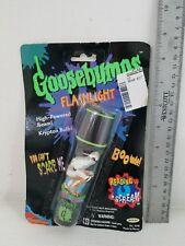 Goosebumps Flashlight MUMMY 1996 Sealed Original Packaging