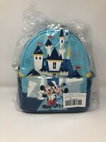 Mickey and Minnie Mouse Mini Backpack Loungefly - Disneyland 65th Anniversary
