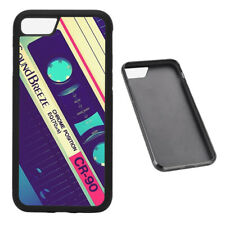 Old School Cassette Tape RUBBER phone case Fits iPhone