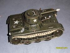Gama Panzer Gama Tank,  Metall  18,7 cm L. Aufziehwerk