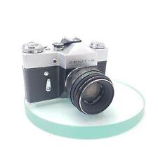 Zenit B 35mm SLR Film Camera With Helios 44M Lens 58mm F2 Working Order! Lomo476