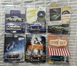 Greenlight Lot of 6 Miscellaneous Cars *MIB* #8